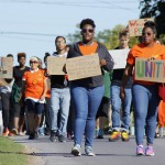 ALANA Peace Walk joins students together to display campus diversity
