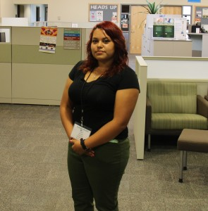 "Tatianna ""TJ"" shares her experience working at The Compass (Taylor Griffin, The Oswegonian)"