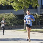 Students race for cure in pumpkin run