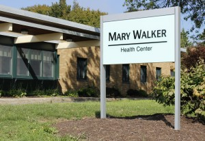 Mary Walker health Center, located on Lakeside, has walk-in hours Monday through Friday from 8:30 a.m. to 10:30 a.m.  (Alexander Simone | The Oswegonian)