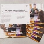 Postcard campaign urges bill signage