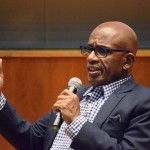 Al Roker visits Oswego to promote novel