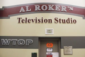 WTOP-10's Al Roker Television Studio hopes to enhance quality of career development for involved students with the help of SA, administration and alumni.   (Alexander Simone | The Oswegonian)