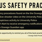 Nation-wide school shootings spark Oswego State administration response