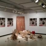 Art Exhibit Feature: David James' 'Serotonin' Master's exhibit
