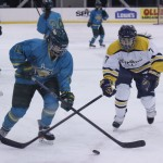 Strong second period and a shutout performance moves Oswego State past Nuemann