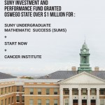 Oswego State receives over $1million worth of grant for campus-related projects