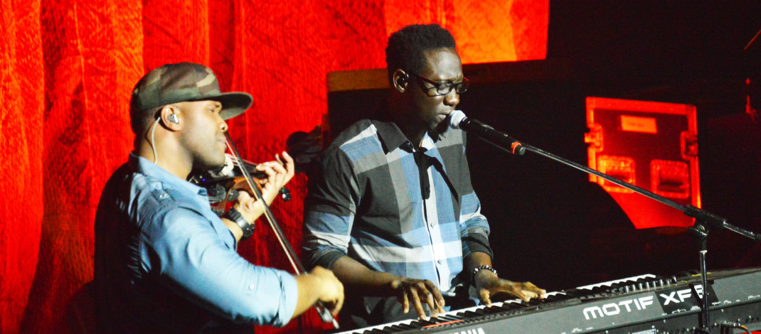 Black Violin duo launches tour at Oswego State