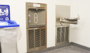 Sustainability initiative adds water bottle refill stations