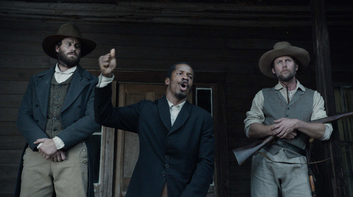 Center: Parker delivers a career defining performance as Nat Turner, a preacher, slave and revolutionary. Photo provided by foxsearchlight.con
