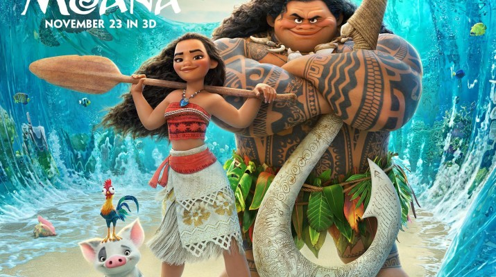 Character design deemed insensitive to Polynesian culture.(Photo provided by moana.movies.disney.com)