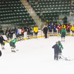 Men's ice hockey prepares for 2-day road trip to North Country trying to stay perfect