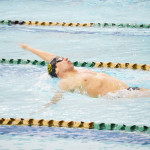 Freshman breaks 10-year record in 3rd meet