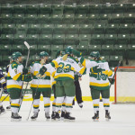 Lakers dominate the power play and offense in victory over New England College