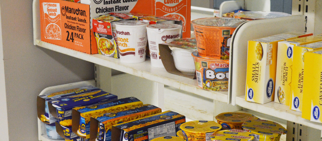 Food, clothing pantry opens in Penfield Library for students in need