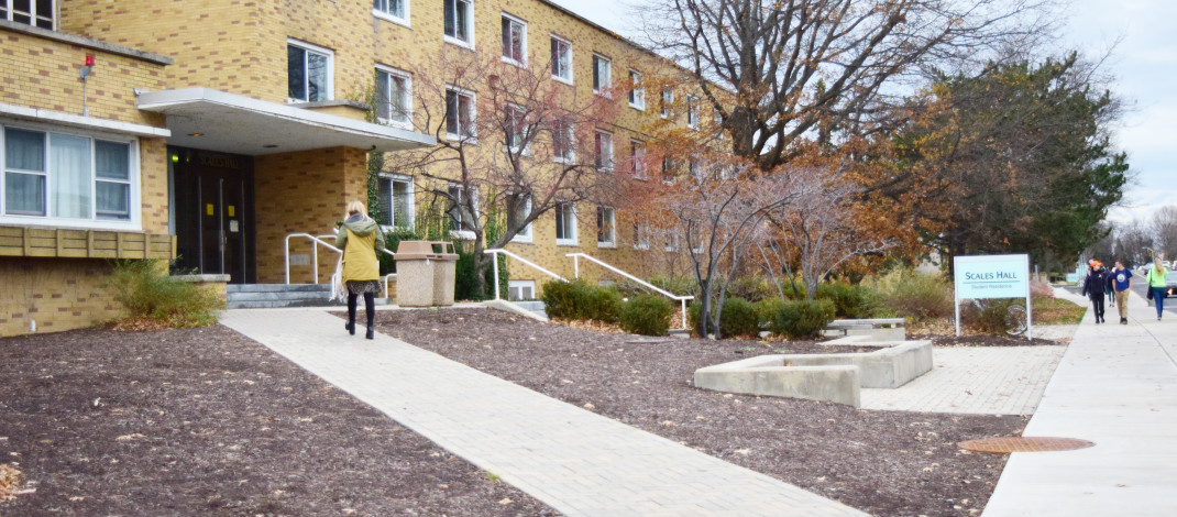 Residence hall looks ahead to renovations