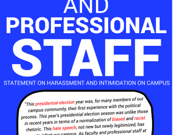 350 faculty, professional staff sign campuswide email statement about harassment
