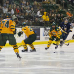 Men's hockey still improving heading into playoffs