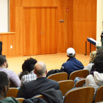 Stanley hosts first town hall of semester