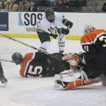 Quick Recap: SUNYAC semifinal men's hockey vs. Buffalo State