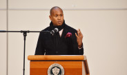 Author, activist, TV personality speaks to students