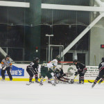 Men's hockey able to grab 2 points after blowing third period lead