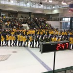 Oswego State breaks world record on live TV