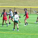 Freshman Garrett leading surging women's lacrosse team