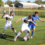 Men's soccer starts SUNYAC strong, shutout New Paltz 1-0