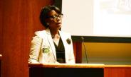 Nina Moore speaks on race relations in America at OzSpeaks