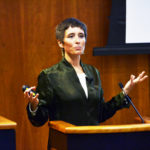 Amy Hassinger, author, speaks on campus as part of writers series