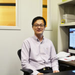 Professor researching neurodegenerative disease
