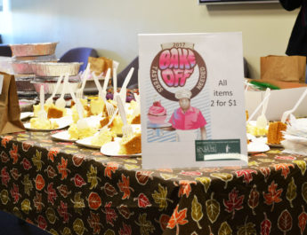 Oswego State faculty hold benefit bake sale