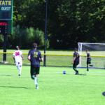 Graduate defender models consistency for young men's soccer roster