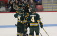 Men's hockey rolls past SUNY Potsdam in dominant road win